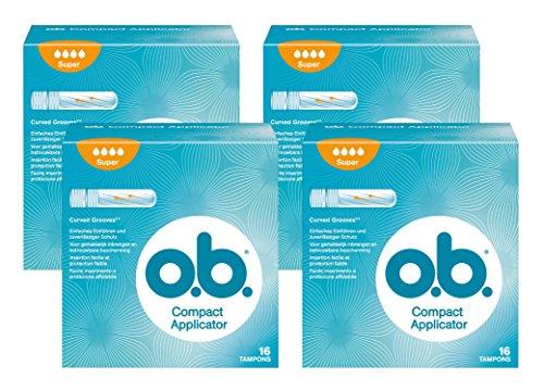 o.b. Pro Comfort Applikator Super, 4x  16 Stück