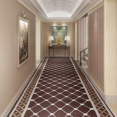 Aojing Runners Design grijze beige tapijtmat, grote loper, gebruiken comfortabel, verkocht een prijs per voet, heeft een zachte textuur