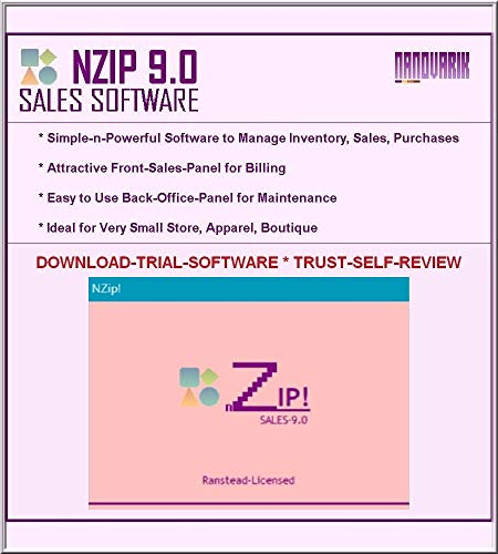 Retail Sales Inventory Billing Software (Try-Now, Reseller; NZIP)