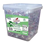 Red Bird Wintergreen Soft Mint Puffs, 320 pieces of Individually Wrapped Candy (60 oz), Kosher, Gluten-Free