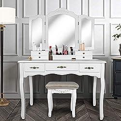 Image of Vanity Beauty Station,Large...: Bestviewsreviews