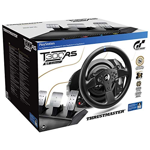 Thrustmaster T300 RS GT Racing Wheel - PlayStation 4 (Renewed)