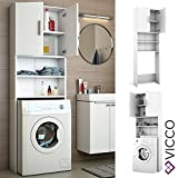 Zoom IMG-1 vicco armadio per lavatrice colore