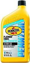 Pennzoil - 550042833-6PK Platinum Euro-L Full Synthetic 5W-30 Motor Oil (1-Quart, Case of 6)