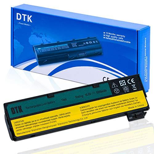 DTK Laptop Battery Replacement for Lenovo IBM Thinkpad 0C52862 0C52861 68+ L450 L460 T440s T440 T450 T450s T460 T460P T550 T560 P50S W550s X240 X250 X260 Series 10.8V 5200mah