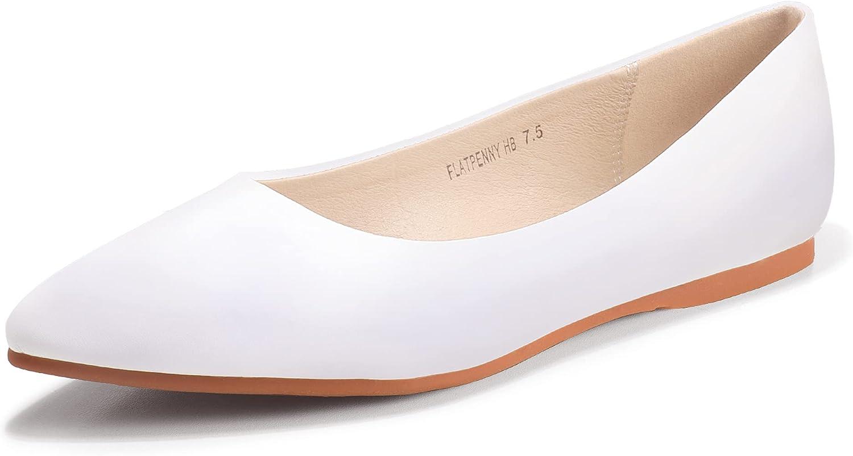 Albuquerque Mall IDIFU Women's Comfortable quality assurance Pointed Toe Flats Shoes Wedding Dress
