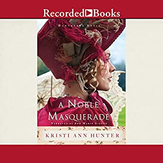 A Noble Masquerade audiobook cover art