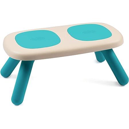 Smoby - Kid Banc - Mobilier pour Enfant - Dès 18 Mois - Intérieur et Extérieur - Double Assise - Bleu - 880302