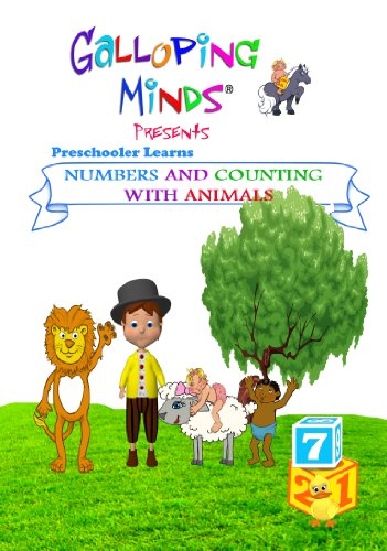 Galloping Minds: Preschooler Learns Numbers