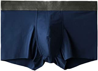 Mens Stretch Relaxed Fit Seamless Ice-Silk Underwear Soft Boxer Briefs