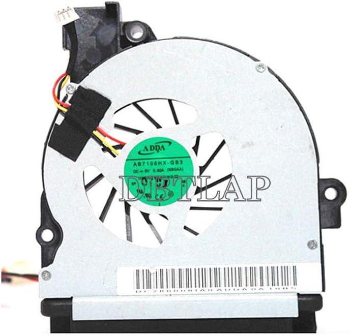 DBTLAP Portátil Ventilador para Toshiba Satellite P745-S4102 CPU Ventilador