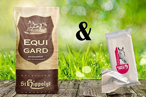 St. Hippolyt Equigard 20 kg + Happy Horse Strahlemann Funktionsfeuchttücher