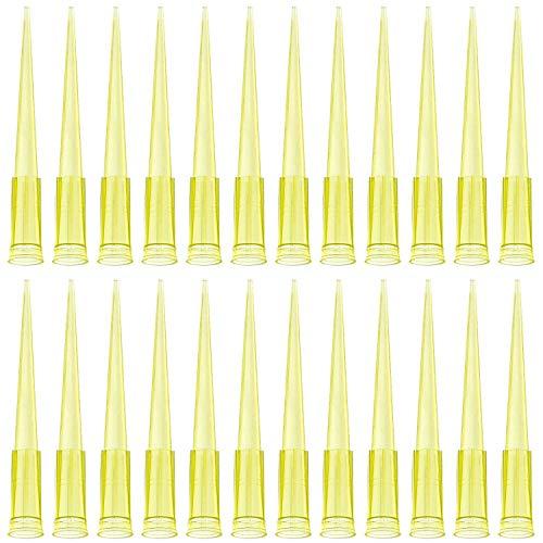 Pipettenspitze - Pipettenspitzen für Labor-Pipetten, Pipettenspitzen, lose, unsteril, für 10, 200, 1000 und 5000 µL, bis zu 5000 Kegel pro Beutel (200 UL (1000 Stück)