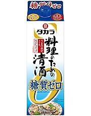 料理のための清酒 〈糖質ゼロ〉 [ 日本酒 900ml ]