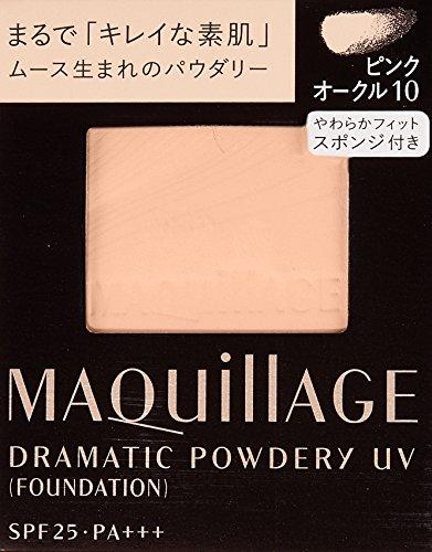 マキアージュドラマティックパウダリーUVピンクオークル10(レフィル)/SPF25・PA+++9.3g