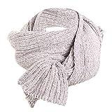 Bufanda de chenilla para mujer, otoño, invierno, cálida, larga, color sólido,...