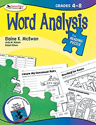 The Reading Puzzle: Word Analysis, Grades 4-8