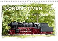 Lokomotiven en miniature (Wandkalender 2022 DIN A4 quer): Jeden Monat eine kleine Lok, die Modellgeschichte geschrieben hat (Monatskalender, 14 Seiten )