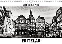 Ein Blick auf Fritzlar (Wandkalender 2022 DIN A4 quer): Ein ungewohnter Blick in harten Schwarz-Weiss-Bildern auf Fritzlar (Monatskalender, 14 Seiten )