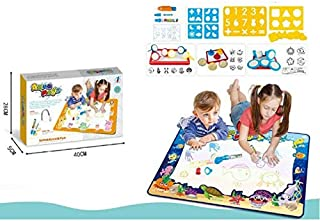 LA Educational Toys: Large Kids Play Mat | Drawing Mat with Kids Coloring Set | Perfect as Creative Toddler Activities: Dr...