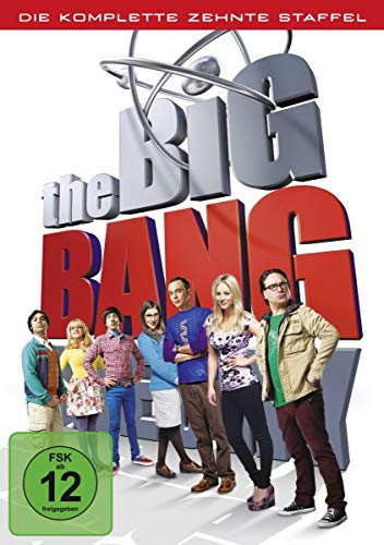 Cover The Big Bang Theory: Die komplette 10. Staffel [DVD]