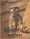 2021-2022 Monthly planner Meerkat: Large Planner Two year 2021-2022 Calendar, Weekly and Monthly Planner, 24 Months Calendar With Holidays Agenda Schedule Organizer and Appointment, 8.5X11 Inch