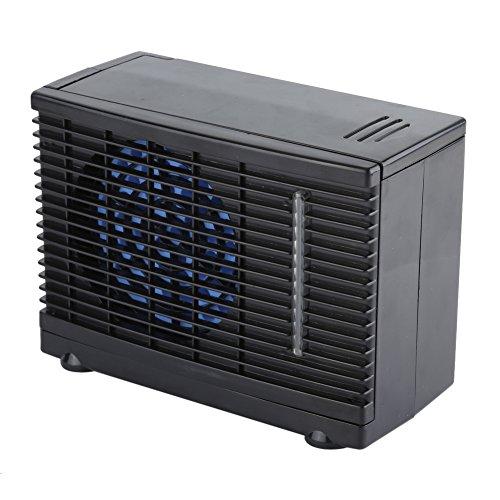 12 V Ventilador de Climatización Portátil, Auto Mini de Coche Aire Acondicionado Cool Ventilador de Coche Ventana Air Vent Ventilador Enfriador