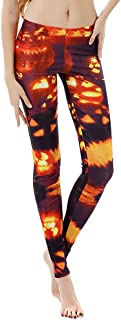 NANTE Top Women's Pants Halloween Print Hip Lifting Buttocks Pants Ladies Yoga Gym Stretchy Sports Trousers Womens Pant
