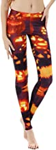 NANTE Top Women's Pants Halloween Print Hip Lifting Buttocks Pants Ladies Yoga Gym Stretchy Sports Trousers Womens Pant