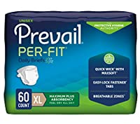 Prevail Per-Fit Maximum Absorbency Underwear, Extra Large, 15-Count by Prevail