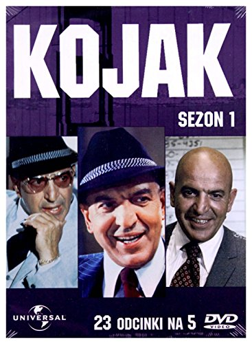Kojak All Bets Off: Part 2 (BOX) [5DVD] [Region 2] (IMPORT) (Keine deutsche Version)