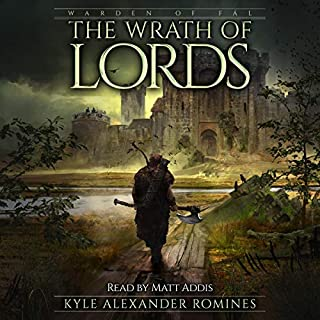 The Wrath of Lords audiobook cover art