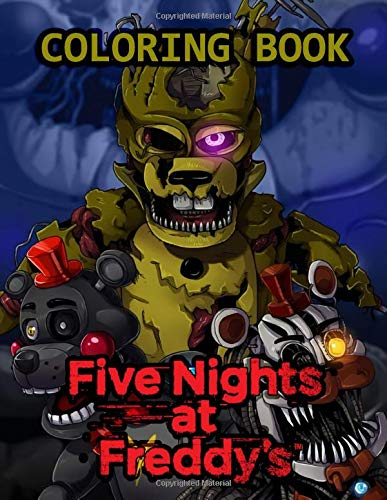 Five Nights At Freddy's Coloring Book: JUMBO coloring book for Five Nights At Freddy's fans