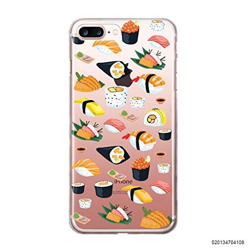 blitzversand Caso Telefono SUHSI Pesce Compatibile per Samsung Galaxy S4 Sushi Tutto ciò Che puoi Mangiare Custodia Protettiva Custodia Paraurti Trasparente M2