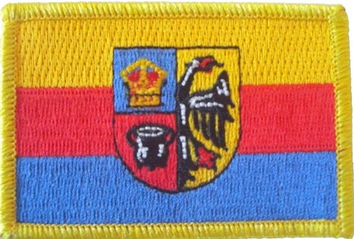 FRIP - Nordfriesland Aufbügler Aufnäher Patch ca. 8 x 5,5cm Fahne Flagge