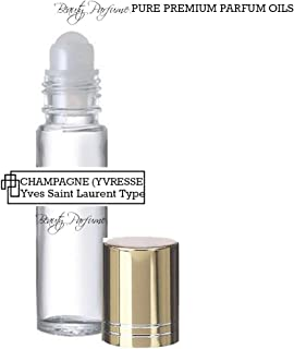 Champagne (Yvresse) *Type (W) Concentrated Version PREMIUM PERFUME BODY OIL Roll on : UNCUT PARFUM OIL