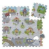 Chicco Tappeto Puzzle, Città, 7163