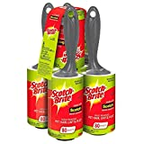 Economy value pack of 5 Rollers (80 sheets each) for a total of 400 sheets Keep clothes lint, fuzz and hair-free Use on pants, coats, sweaters, dresses, suits, formal wear and more Scotch-Brite adhesive grabs tough to remove pet hair