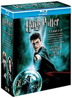 Harry Potter Year 1-5 Box Set [Blu-ray] [Region Free] (B001F7ADUE) | Amazon price tracker / tracking, Amazon price history charts, Amazon price watches, Amazon price drop alerts