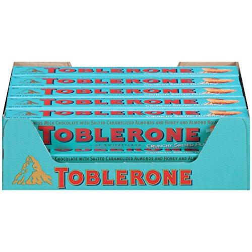 image of Toblerone Salted Milk Chocolate