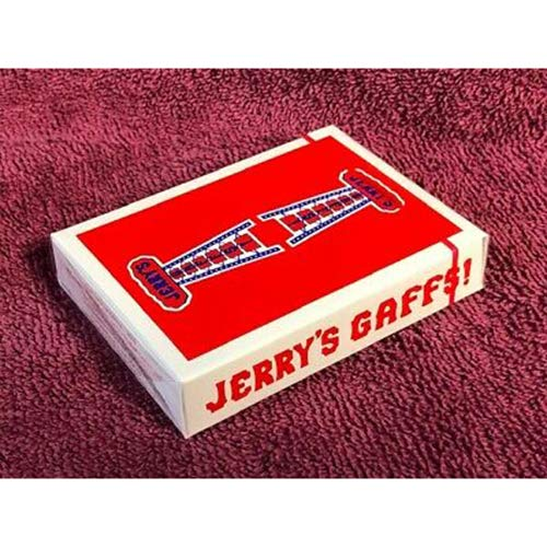 SOLOMAGIA Modern Feel Jerry's Nuggets Gaff (Blue and Red) Playing Cards