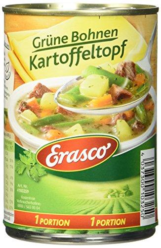 Erasco Grüne Bohnen-Kartoffeltopf, 3er Pack (3 x 400 g)