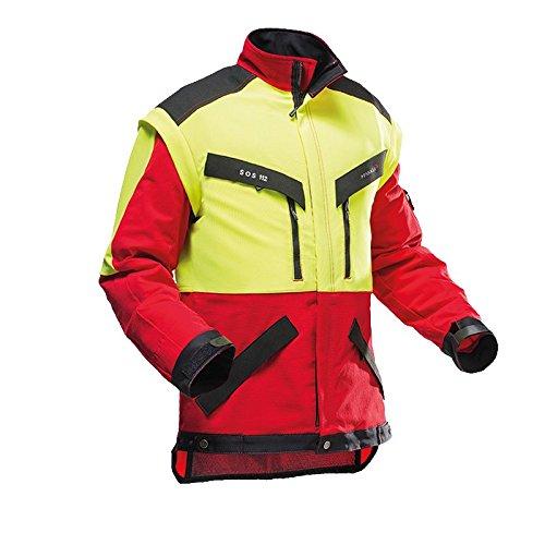 Pfanner 804163-40/L Forstjacke KlimaAIR Größe L in rot/gelb/schwarz, L