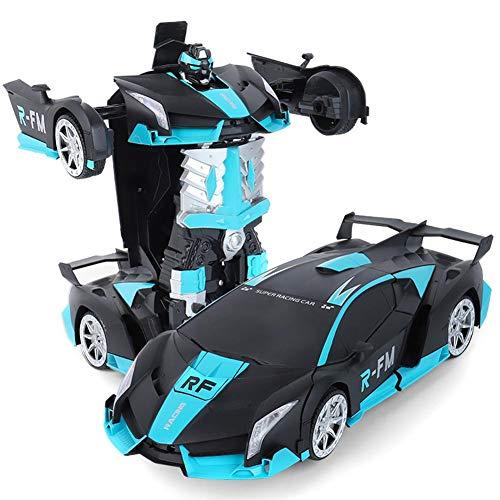 Ferngesteuertes auto, auto ändern roboter ferngesteuertes auto roboter verformung automodell kinderspielzeug ein schlüssel ändern