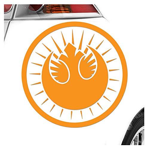 Nouveau jedi-médaille 10 x 10 cm-feu pour les cut autocollant racing