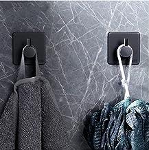 Shoplifemore Geborsteld roestvrij staal Stick op muur deur handdoek haak hanger waterdichte sterke binding power kleverige...