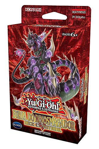 Yu-Gi-Oh! - Deck Estrutural - Fúria do Dinosmagador