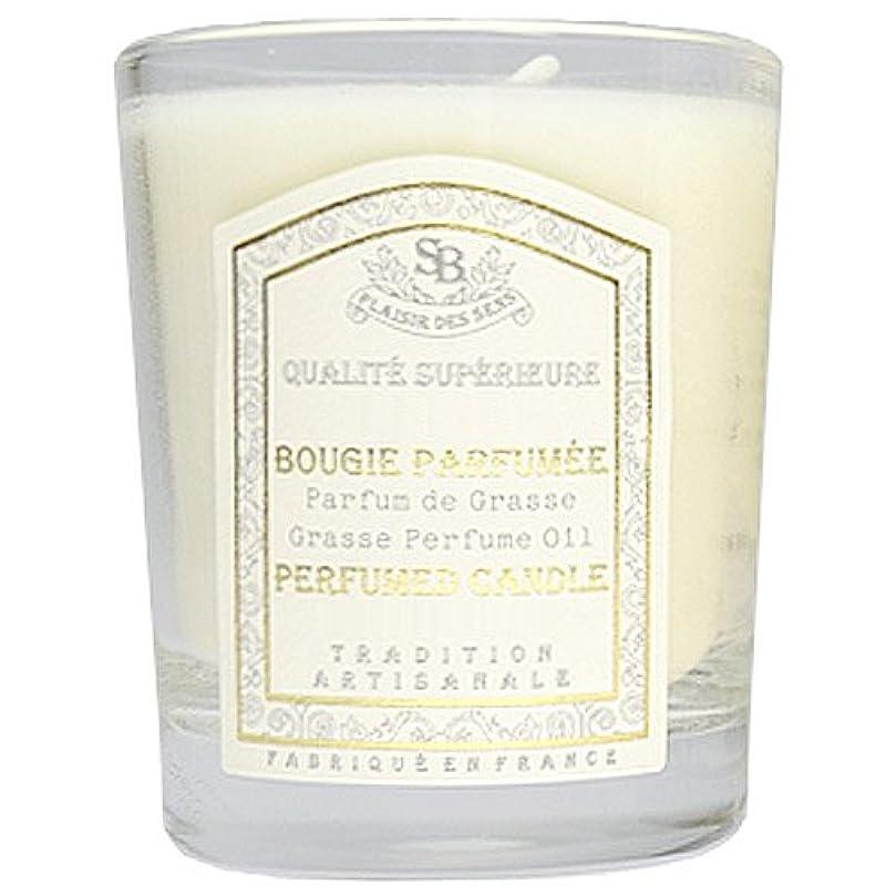オデュッセウス摘む視力Senteur et Beaute(サンタールエボーテ) フレンチクラシックシリーズ グラスキャンドル 90g 「ホワイトティー」 4994228021991