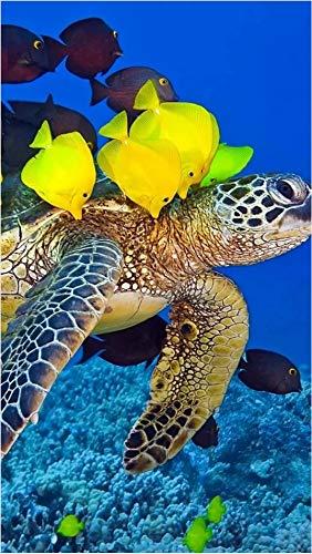 Turtle Fish School Puzzle-1000 Pieces Children's Puzzle-Adult Leisure and Entertainment DIY Puzzle Game