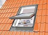Optilight Dachfenster mit Eindeckrahmen wellig & Dauerlüftung - 55x98 FAKRO Konzern